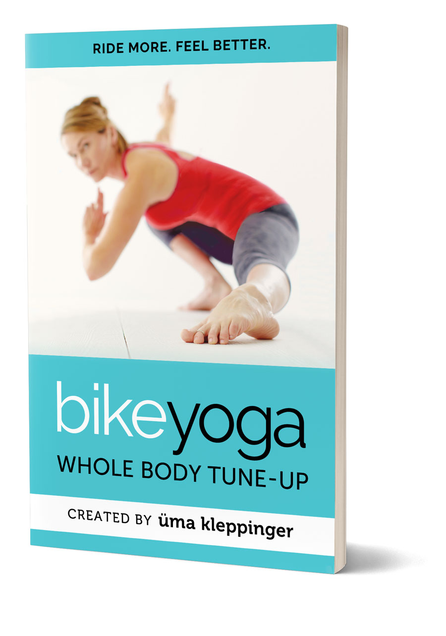 image of BikeYoga book cover